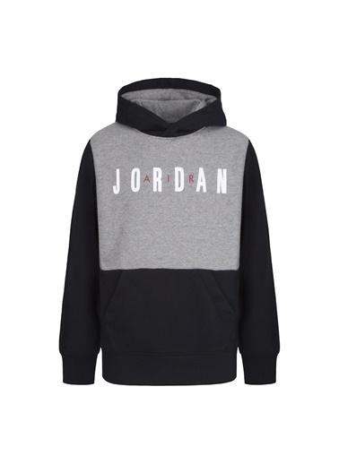 Nike Nike Baskılı Siyah Sweatshirt Siyah